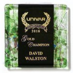Ebony Fusion Plaque Employee Awards